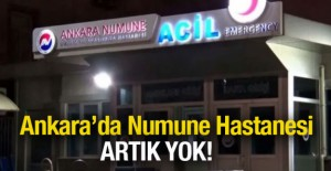 Ankara Numune Hastanesi artık yok!